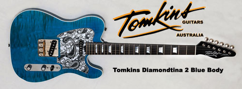 Tomkins Diamondtina 2 Blue Body