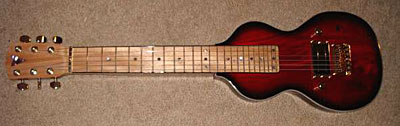 new Tomkins lap steel