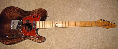 Gary Allan's latest guitar!