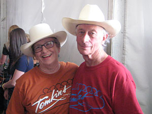 Barbara Tomkins and Gary Brown